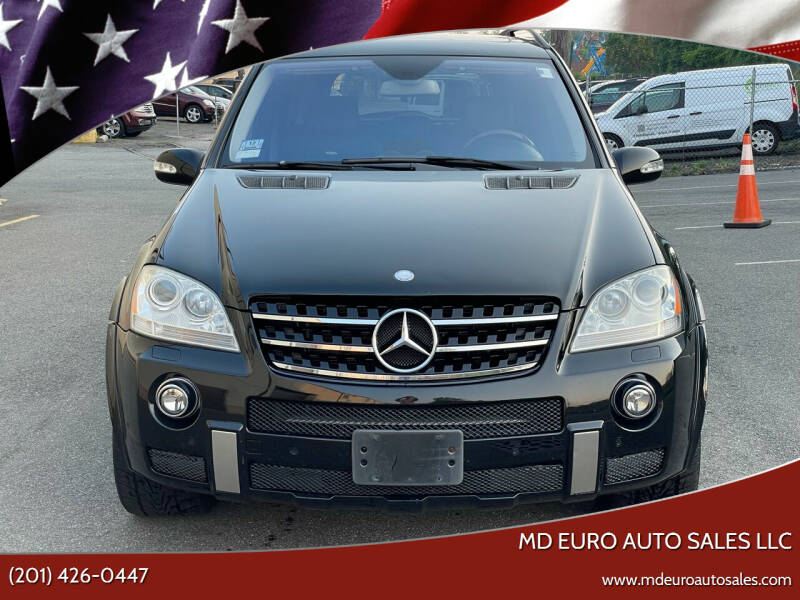 2007 Mercedes-Benz M-Class for sale at MD Euro Auto Sales LLC in Hasbrouck Heights NJ