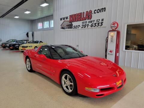 2004 Chevrolet Corvette for sale at Kinsellas Auto Sales in Rochester MN