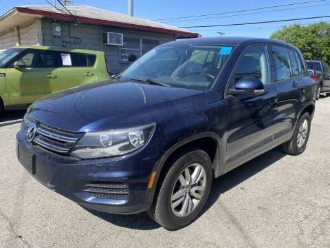 2013 Volkswagen Tiguan for sale at Pary's Auto Sales in Garland TX