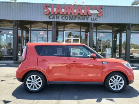 2017 Kia Soul for sale at Siamak's Car Company llc in Salem OR