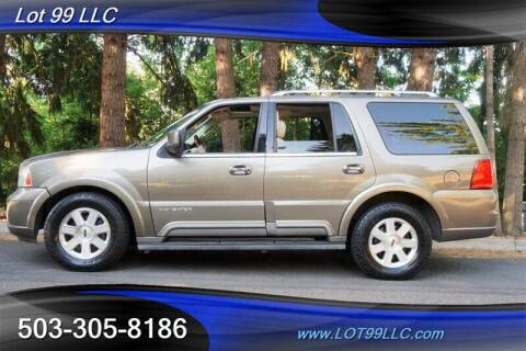 2003 Lincoln Navigator for sale at LOT 99 LLC in Milwaukie OR