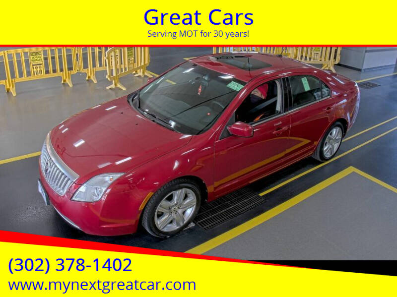 2010 Mercury Milan for sale at Great Cars in Middletown DE