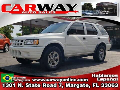 2001 Isuzu Rodeo for sale at CARWAY Auto Sales in Margate FL