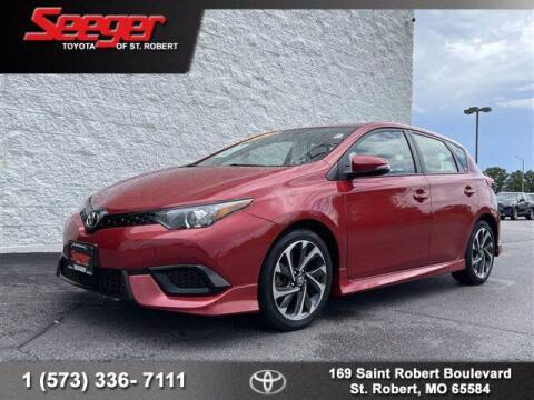 2018 Toyota Corolla iM for sale at SEEGER TOYOTA OF ST ROBERT in Saint Robert MO