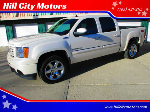 2012 GMC Sierra 1500 for sale at Hill City Motors in Hill City KS