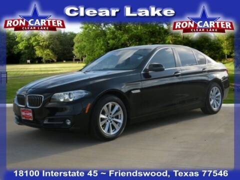 2015 BMW 5 Series for sale at Ron Carter  Clear Lake Used Cars in Houston TX