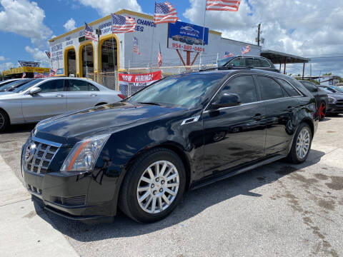 2012 Cadillac CTS for sale at INTERNATIONAL AUTO BROKERS INC in Hollywood FL