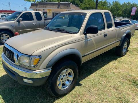 2002 Toyota Tacoma for sale at Cash Car Outlet in Mckinney TX