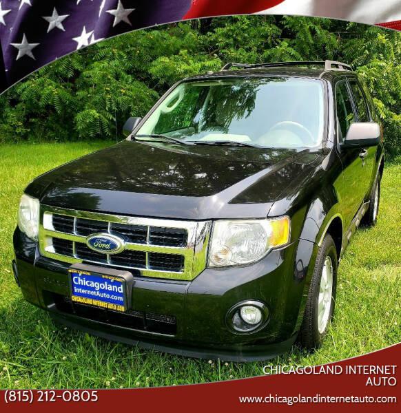 2011 Ford Escape for sale at Chicagoland Internet Auto - 410 N Vine St New Lenox IL, 60451 in New Lenox IL