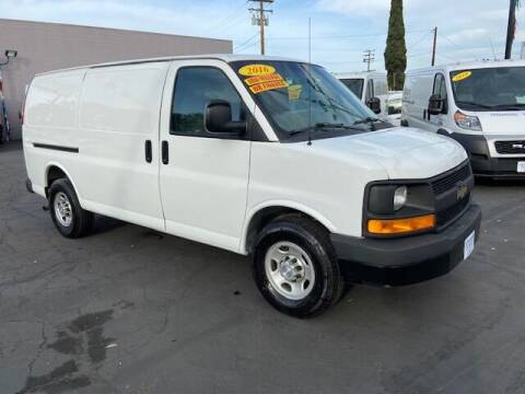 2016 Chevrolet Express Cargo for sale at Auto Wholesale Company in Santa Ana CA