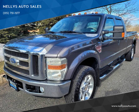 2008 Ford F-250 Super Duty for sale at NELLYS AUTO SALES in Souderton PA