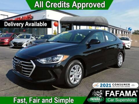 2018 Hyundai Elantra for sale at FAFAMA AUTO SALES Inc in Milford MA