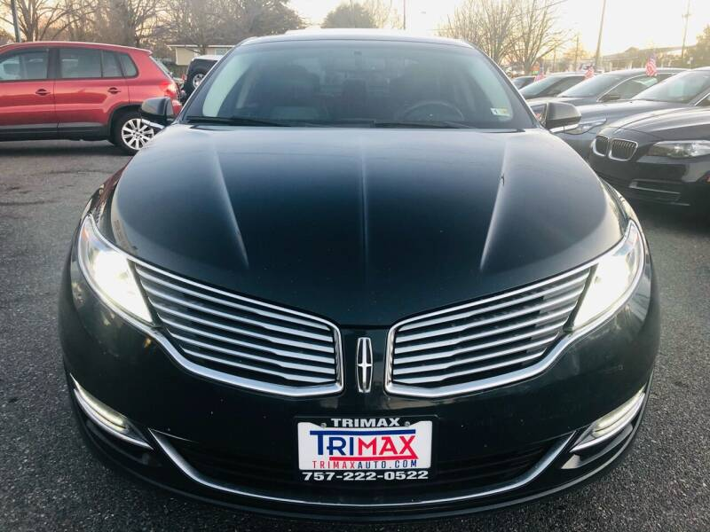 2014 Lincoln MKZ for sale at Trimax Auto Group in Norfolk VA