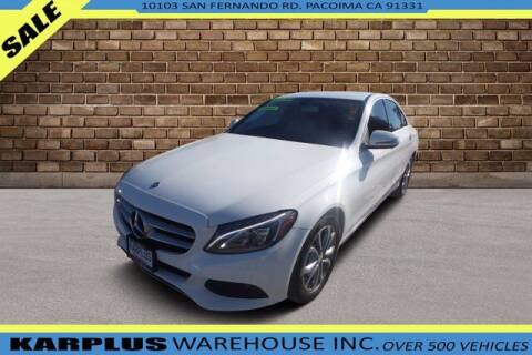 2016 Mercedes-Benz C-Class for sale at Karplus Warehouse in Pacoima CA