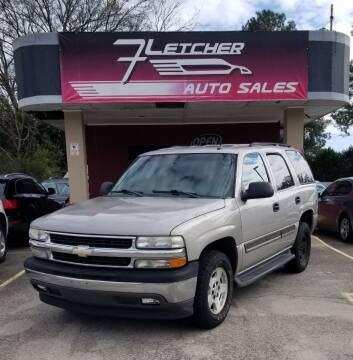 2005 Chevrolet Tahoe for sale at Fletcher Auto Sales in Augusta GA