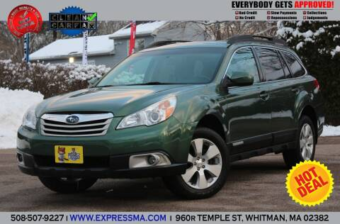 2012 Subaru Outback for sale at Auto Sales Express in Whitman MA