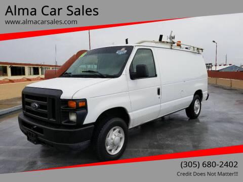2008 Ford E-Series Cargo for sale at Alma Car Sales in Miami FL