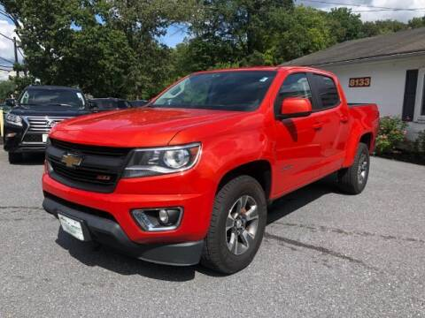 2016 Chevrolet Colorado for sale at Sports & Imports in Pasadena MD