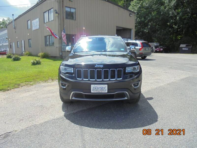 2015 Jeep Grand Cherokee for sale at Exclusive Auto Sales & Service in Windham NH