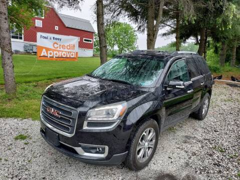 2014 GMC Acadia for sale at Caulfields Family Auto Sales in Bath PA