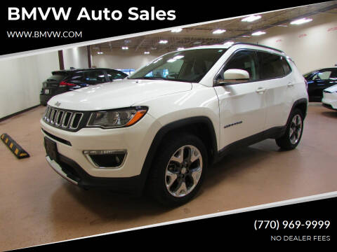 2019 Jeep Compass for sale at BMVW Auto Sales in Union City GA