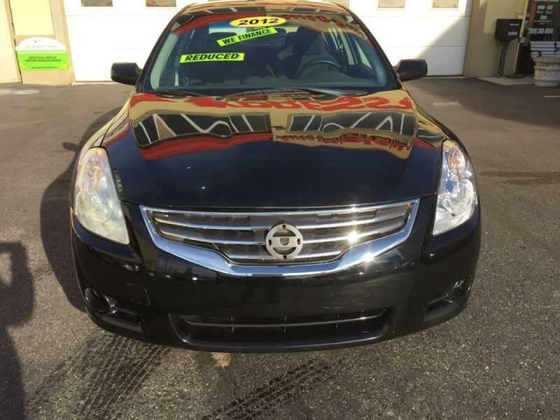 2012 Nissan Altima for sale at Xpress Auto Sales & Service in Atlantic City NJ