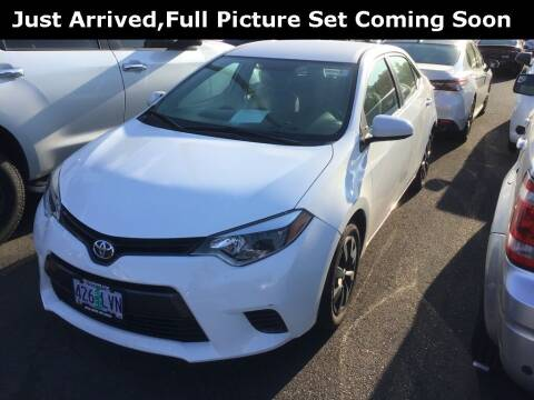 2016 Toyota Corolla for sale at Royal Moore Custom Finance in Hillsboro OR