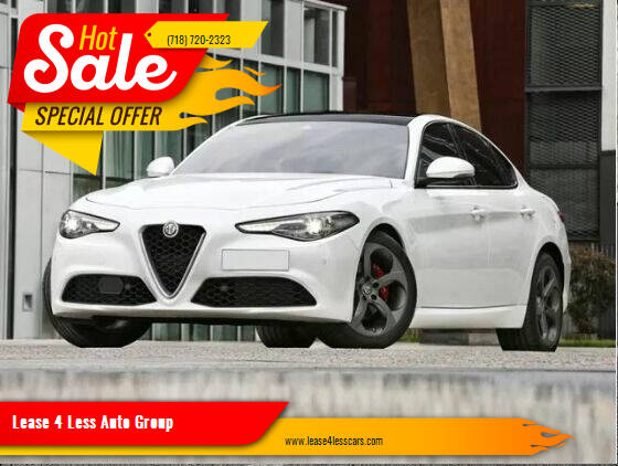 2020 Alfa Romeo Giulia for sale at Lease 4 Less Auto Group in Brooklyn NY