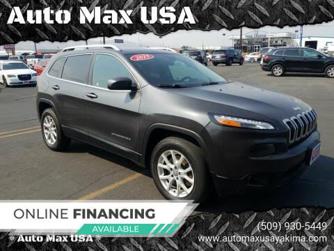 2015 Jeep Cherokee for sale at Auto Max USA in Yakima WA