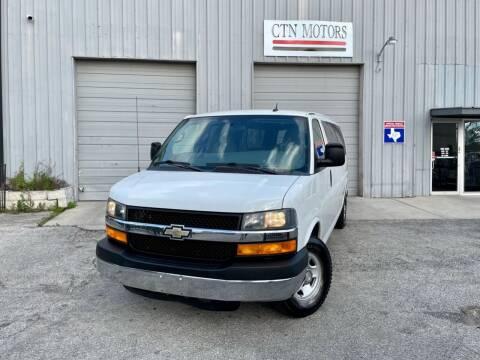 2013 Chevrolet Express Passenger for sale at CTN MOTORS in Houston TX
