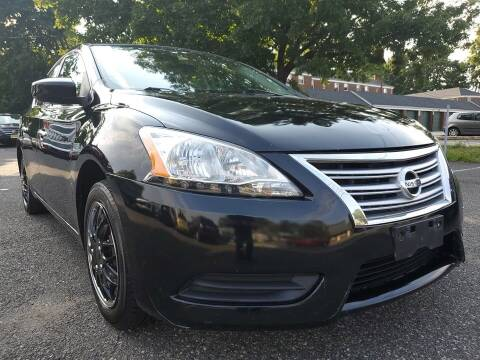 2015 Nissan Sentra for sale at Moor's Automotive in Hackettstown NJ