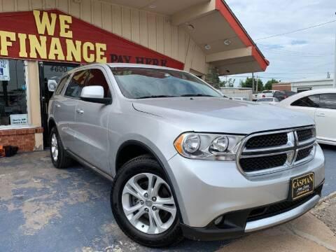 2013 Dodge Durango for sale at Caspian Auto Sales in Oklahoma City OK