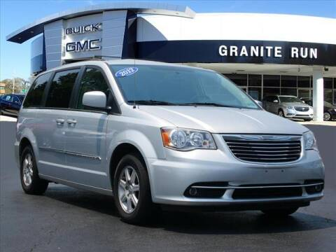 2012 Chrysler Town and Country for sale at GRANITE RUN PRE OWNED CAR AND TRUCK OUTLET in Media PA