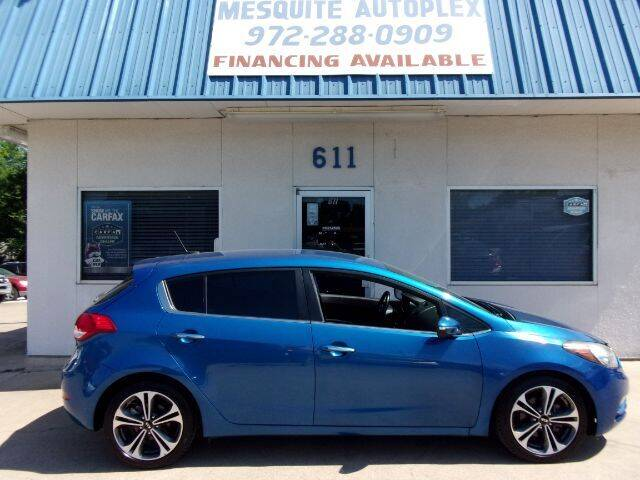 2015 Kia Forte5 for sale at MESQUITE AUTOPLEX in Mesquite TX