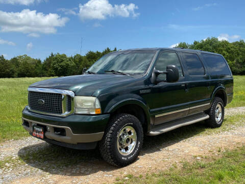 2003 Ford Excursion for sale at TINKER MOTOR COMPANY in Indianola OK