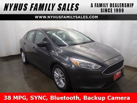 2018 Ford Focus for sale at Nyhus Family Sales in Perham MN