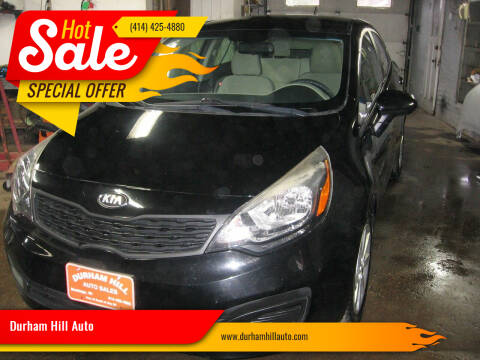 2013 Kia Rio for sale at Durham Hill Auto in Muskego WI