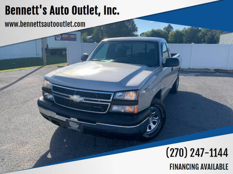 2006 Chevrolet Silverado 1500 for sale at Bennett's Auto Outlet, Inc. in Mayfield KY