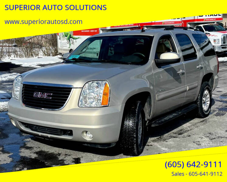 2007 GMC Yukon for sale at SUPERIOR AUTO SOLUTIONS in Spearfish SD