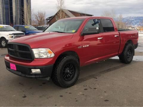 2010 Dodge Ram Pickup 1500 for sale at Snyder Motors Inc in Bozeman MT
