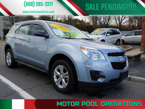 2014 Chevrolet Equinox for sale at Motor Pool Operations in Hainesport NJ