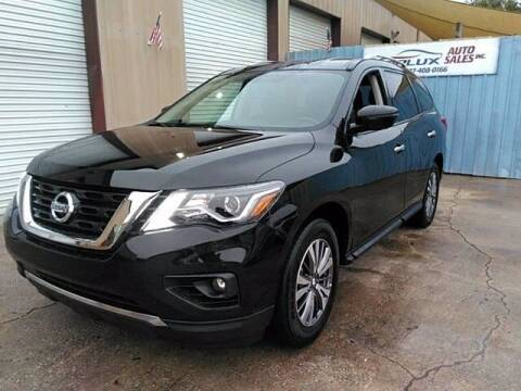 2019 Nissan Pathfinder for sale at Auto Finance of Raleigh in Raleigh NC