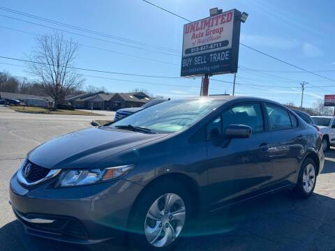 2014 Honda Civic for sale at Unlimited Auto Group in West Chester OH