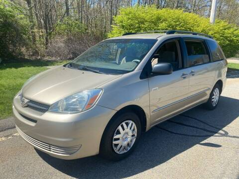 2005 Toyota Sienna for sale at Padula Auto Sales in Braintree MA