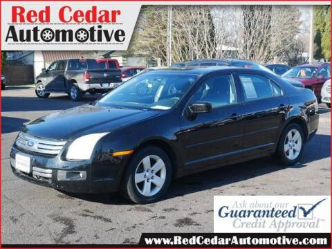 2008 Ford Fusion for sale at Red Cedar Automotive in Menomonie WI