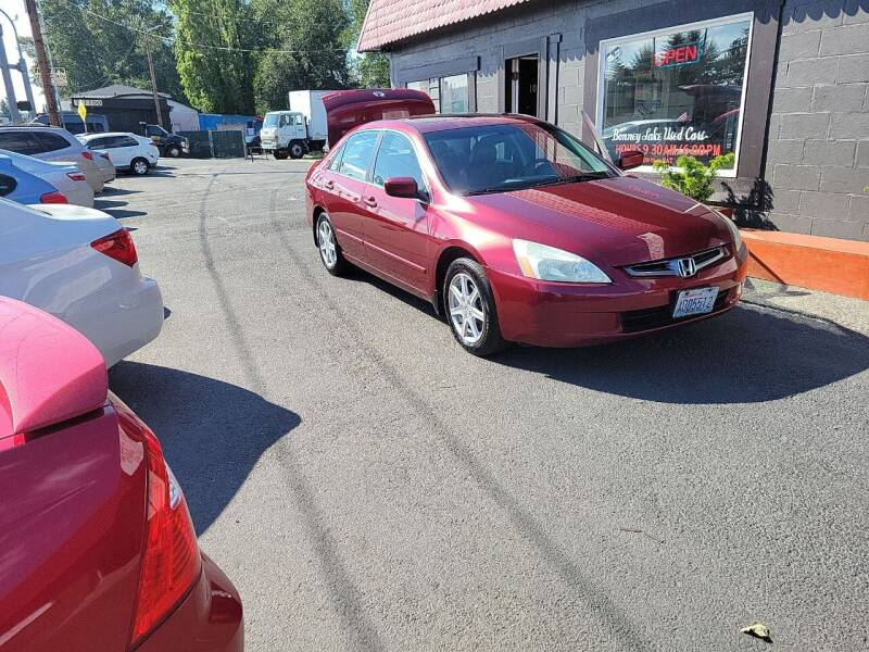 2004 Honda Accord for sale at Bonney Lake Used Cars in Puyallup WA
