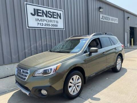 2015 Subaru Outback for sale at Jensen's Dealerships in Sioux City IA