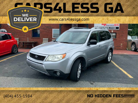 2012 Subaru Forester for sale at Cars4Less GA in Alpharetta GA