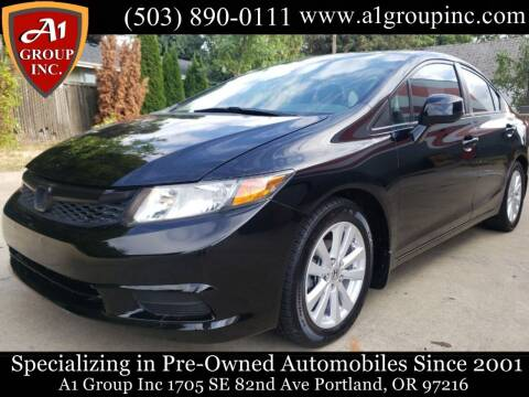 2012 Honda Civic for sale at A1 Group Inc in Portland OR