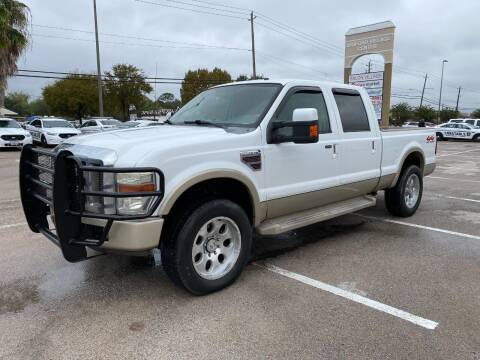 2008 Ford F-250 Super Duty for sale at T.S. IMPORTS INC in Houston TX